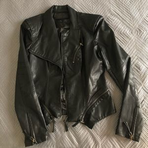 BlankNYC Leather Jacket. Size small.